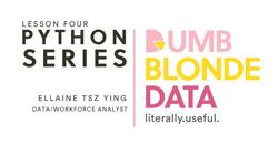 DBD Python Series Lesson 4