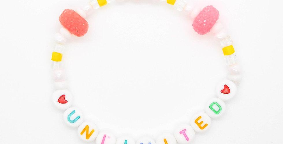 'Unlimited' bracelet