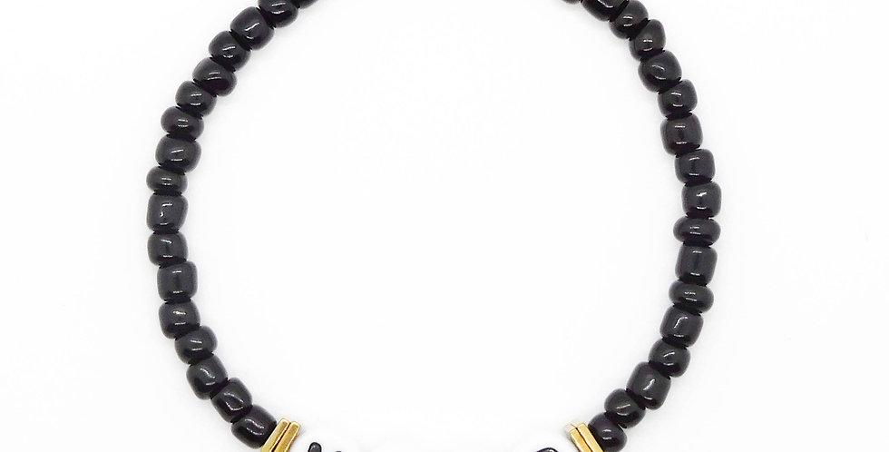 'It's a Mood 🖤' bracelet
