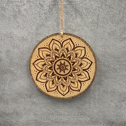 MANDALA WALL HANGING 'PEACE'