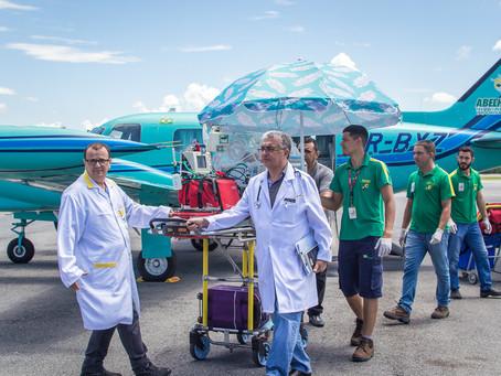 Depoimento de Agradecimento Voo Aeromédico | Novo Progresso/PA para Cuiabá/MT  -  24/04/2020