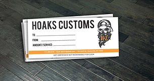 Hoaks Customs Certificates