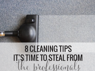 8 Professional Tips You Need to Steal From Us