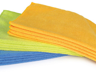 Cleaning Tip #3 - Microfiber Rags