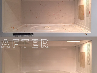 Cleaning Tip #5 - The Dreaded Microwave