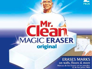 Cleaning Tip #4 - Magic Eraser
