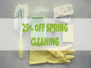 Spring Cleaning Promotion