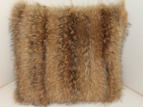 Tanuki Fur Accent Pillow