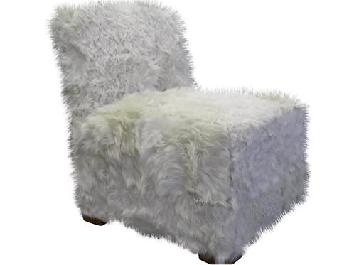 Fuzzy Club Chair