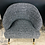 Thumbnail: Fully Restored Mid-Century Modern Barrel Backed Club Chairs