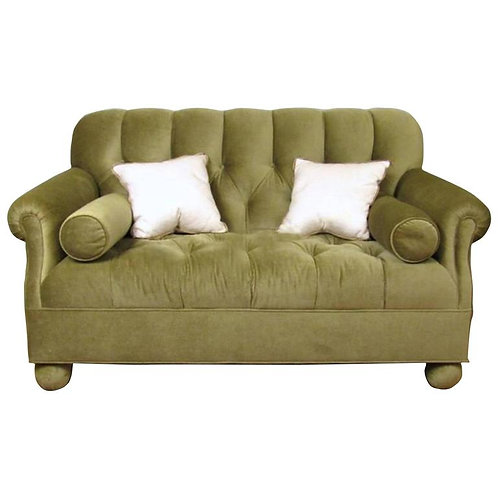 Modern Tufted Loveseat