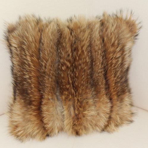 Tanuki Fur Accent Pillow