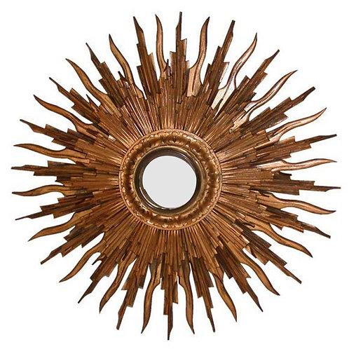 Carved Gilt Sun Frame
