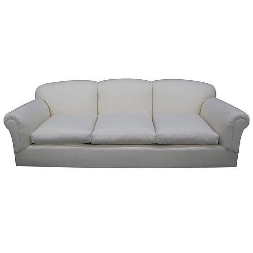 Large, comfortable tight back, loose seat sofa