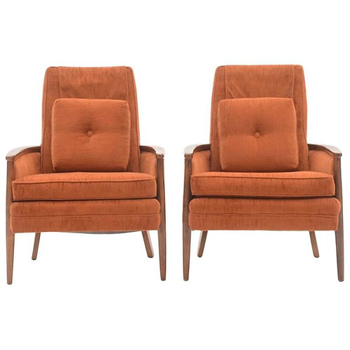 Pair of Circa 1970s Vintage Armchairs