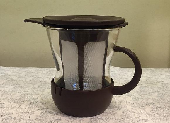 玻璃茶杯(深啡)