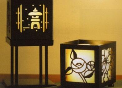 和式蠟燭台(四季花)