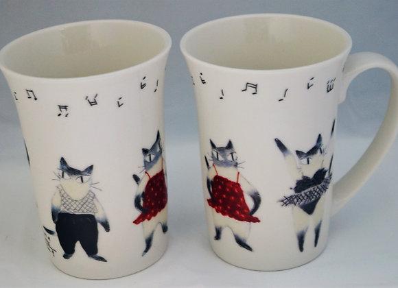 貓貓瓷器杯 (芭蕾)