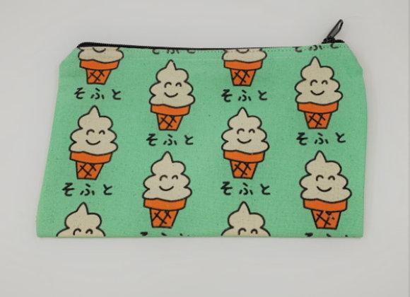 拉鍊布袋 (雪糕)