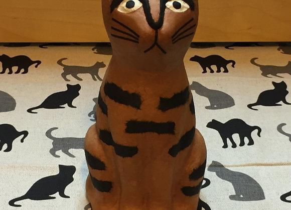 和紙貓貓 (啡色/M) Paper Cat M (Brown)