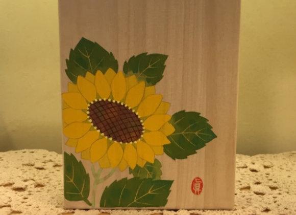 向日葵花木盒