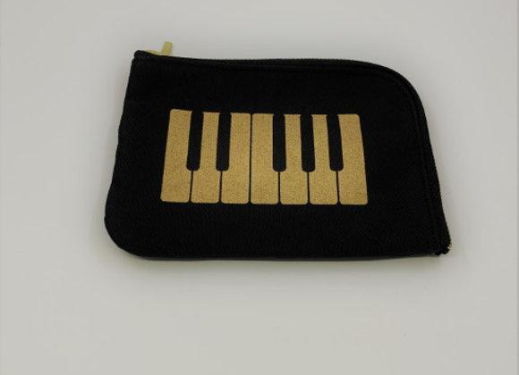 拉鍊小袋(琴鍵)