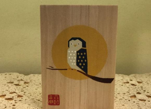 貓頭鷹木盒