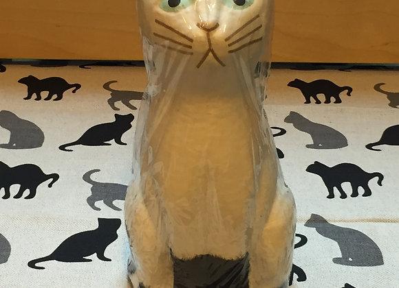 和紙貓貓(白色/M) Paper Cat M (White)