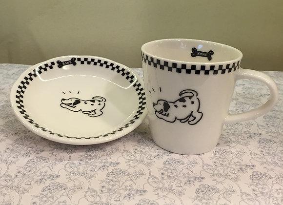 Cup & Saucer (dog)