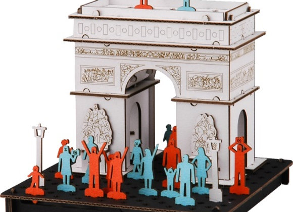 Arc Detriomphe de l'Etoile 凱旋門