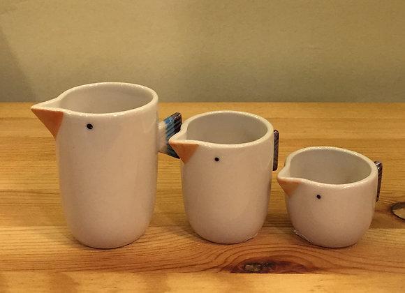 小鳥清酒杯組合