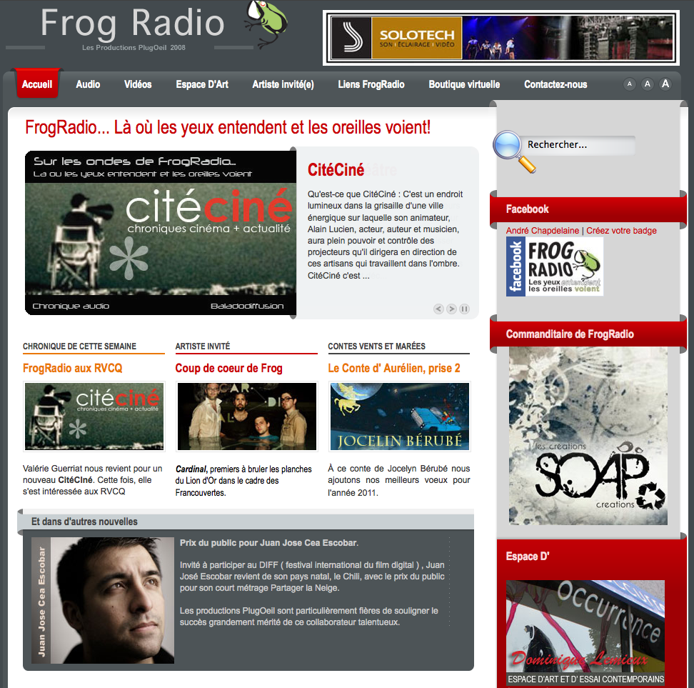 Frog Radio | 2011