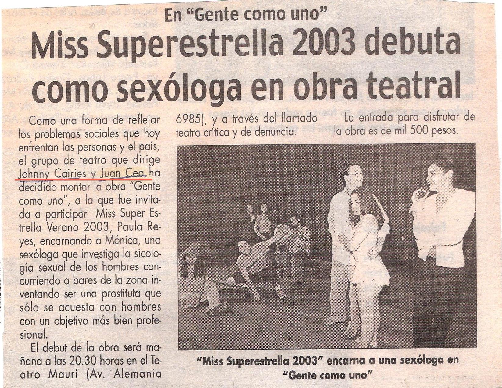 LA ESTRELLA  | Mars 2003