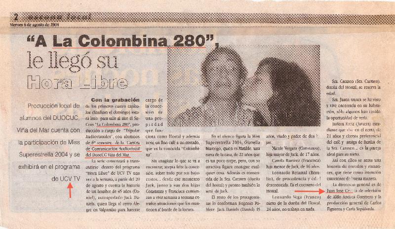 La Colombina 280 |Estrella | 2004