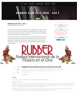 Rubber Fest cinema music