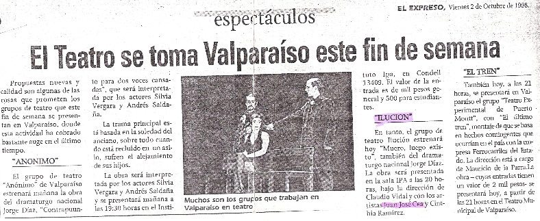 Teatro Ilucion | 1998