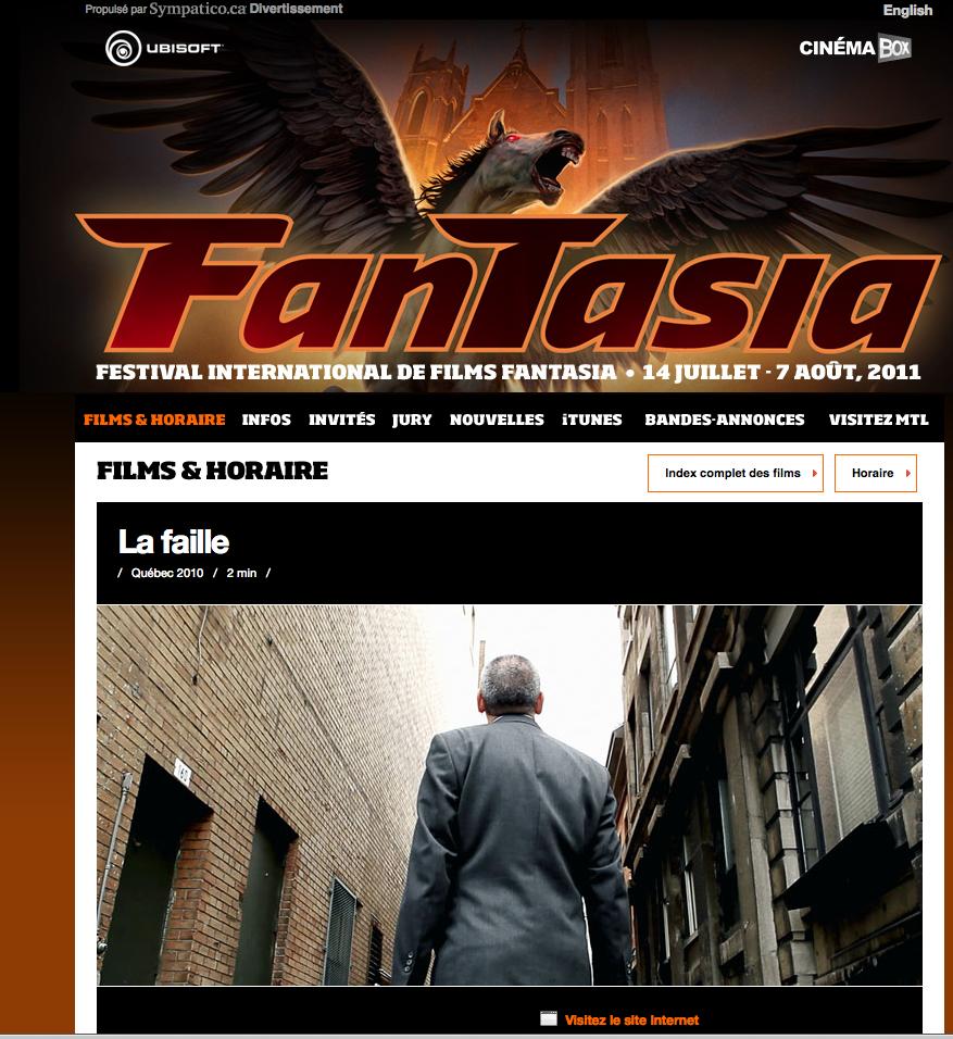 LA FAILLE A FANTASIA 2011