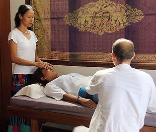 Reiki massage at baan reiki