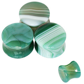 Agate - Green Banded