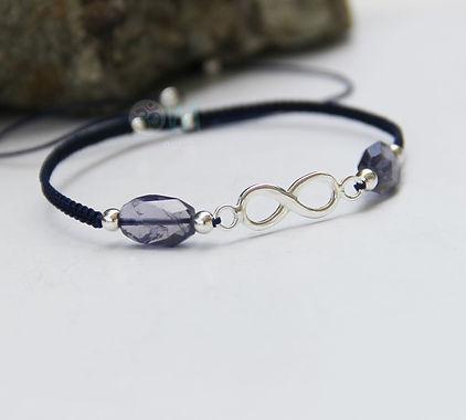 iolite infinity charm bracelet.jpg