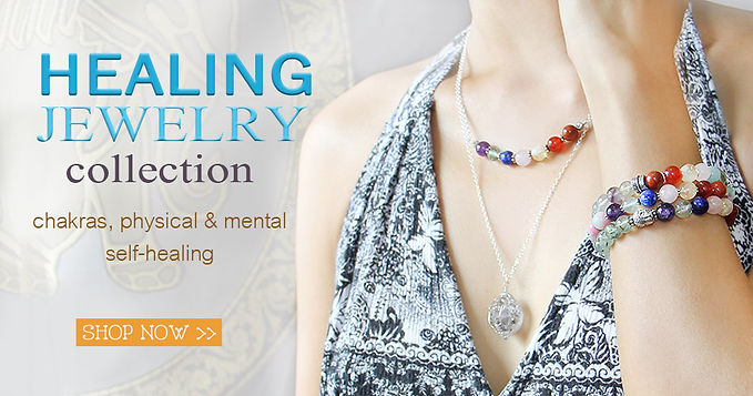 Healing jewelry collection by beadnic1.j