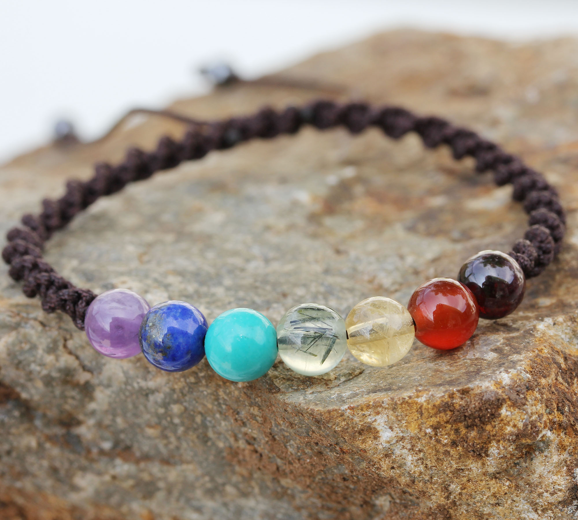 7 chakra  bracelet 2