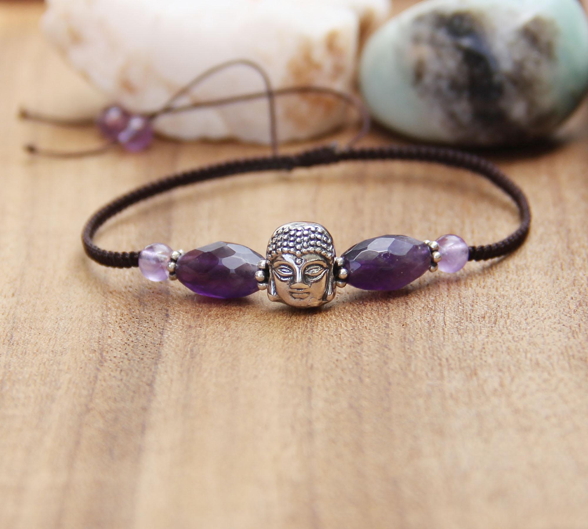 amethyst buddha bead bracelet 3