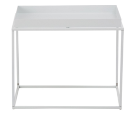 Coffee Table White Wire Rectangle