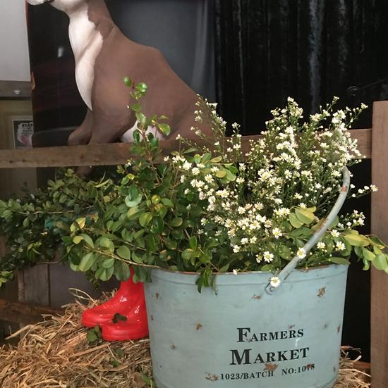 Farmers Market Bucket