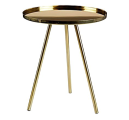 Coffee Table Gold Round
