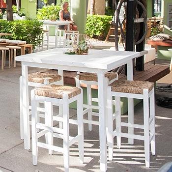 White Timber Dry Bar