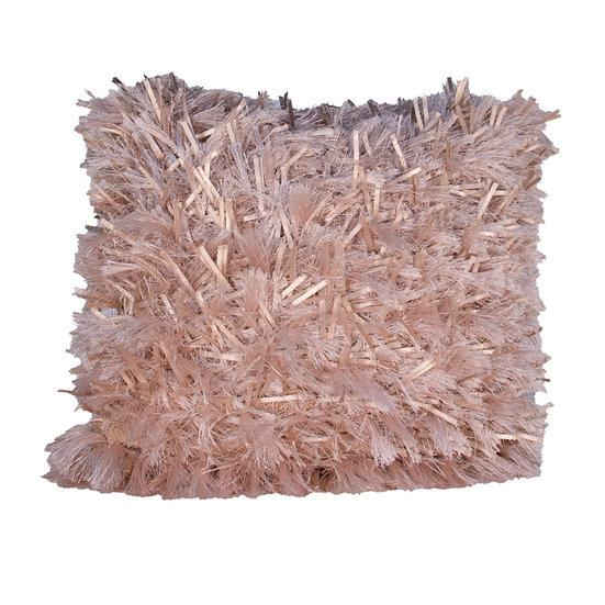 Cushion Pink Shaggy
