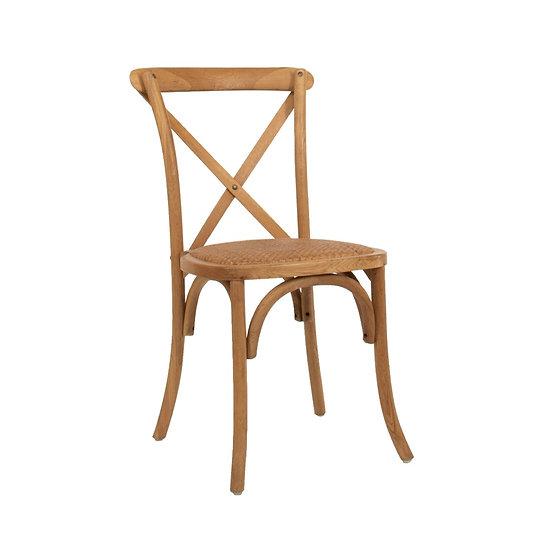 Chair Oak Cross Back