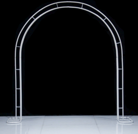 Arbour White Metal Arch